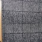 Heavy Wool Mix Dress Fabric  - Prince Of Wales Grey Check